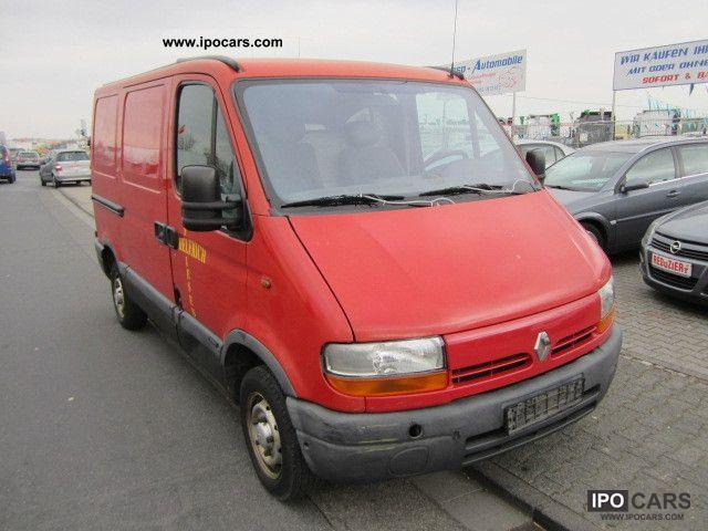 1998 Renault  Master 2.5 D * 1 * 3-SEATER MANUAL APPROVAL * Trucks * Van / Minibus Used vehicle photo