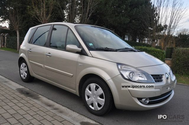 2008 renault scenic dynamique 1 9 dci fap car photo and specs. Black Bedroom Furniture Sets. Home Design Ideas