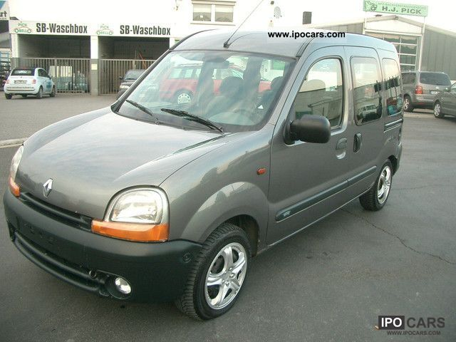 3a5ce2f922a6c6 2001 Renault Kangoo 1.9 dCi Privilege - Car Photo and Specs
