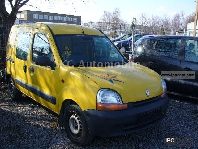 2001 renault kangoo 1 9 d extra eco t v au new car photo and specs. Black Bedroom Furniture Sets. Home Design Ideas