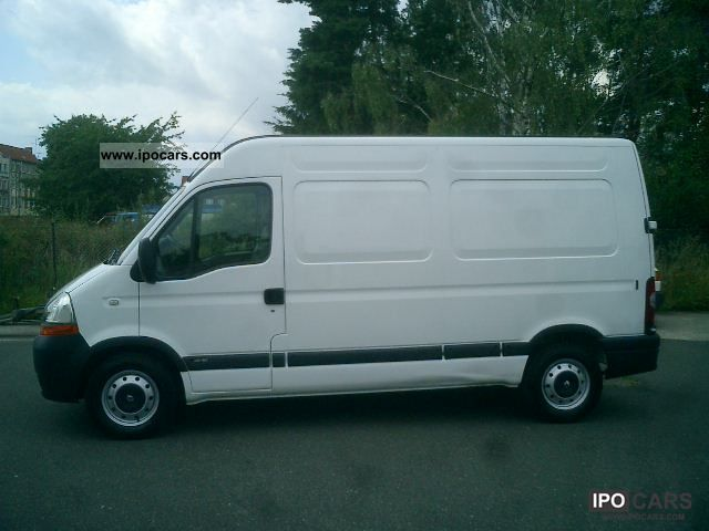 2008 renault master 2 5 dci 120 fap l2h2 car photo and specs. Black Bedroom Furniture Sets. Home Design Ideas