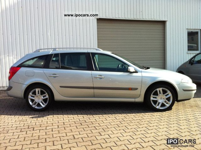2003 Renault Laguna Dynamique 2 0 Turbo Car Photo And Specs