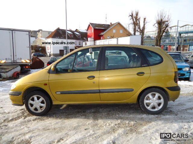 Bien connu 1999 Renault Megane Scenic 1.6 * A / C * 2 * € rims - Car Photo  YW71