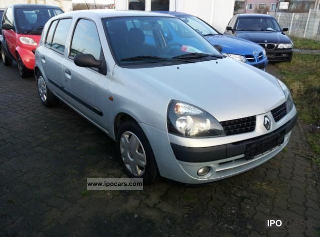2002 renault clio ii 1 2 16v related infomation specifications weili automotive network. Black Bedroom Furniture Sets. Home Design Ideas