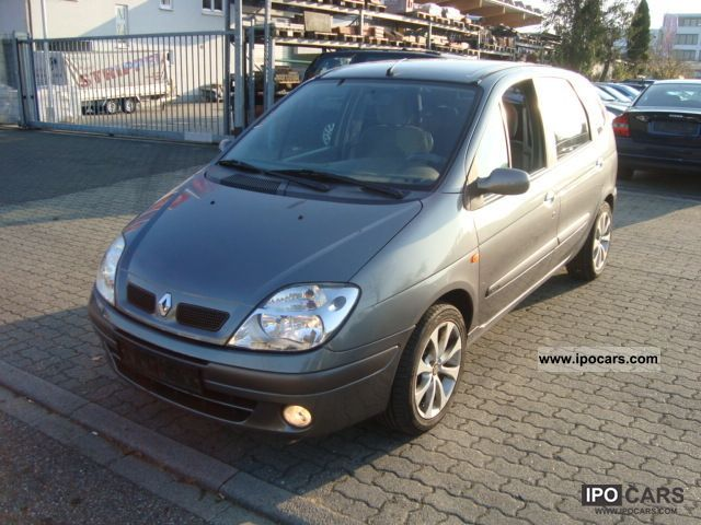 2003 renault scenic 1 9 dci euro 3 aluminum air car photo and specs. Black Bedroom Furniture Sets. Home Design Ideas