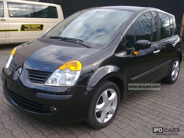 2005 renault modus 1 5 dci esp special edition tech run 6 speed car photo and specs. Black Bedroom Furniture Sets. Home Design Ideas