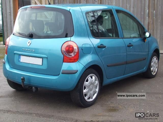 2005 renault modus 1 5 dci car photo and specs