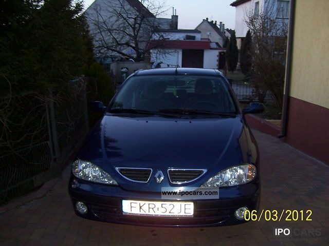 2001 Renault  Megane Limousine Used vehicle photo