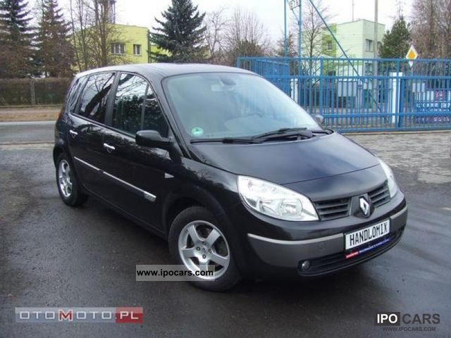 2006 renault scenic 1 9 dci 110 km 6bieg w op acony car photo and specs. Black Bedroom Furniture Sets. Home Design Ideas