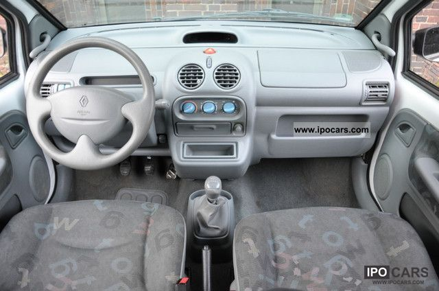 2006 renault twingo 1 2 authentique 1 hand 99 tkm. Black Bedroom Furniture Sets. Home Design Ideas