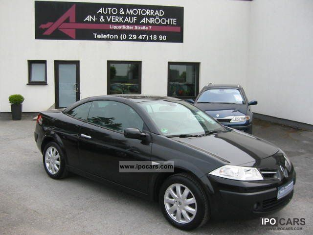 2008 Renault  Megane II Cabriolet Dynamique FULL! Cabrio / roadster Used vehicle photo