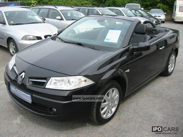 2008 renault megane ii cabriolet dynamique full car photo and specs. Black Bedroom Furniture Sets. Home Design Ideas