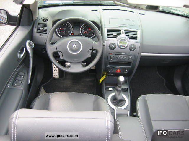 2008 Renault Megane Ii Cabriolet Dynamique Full Car