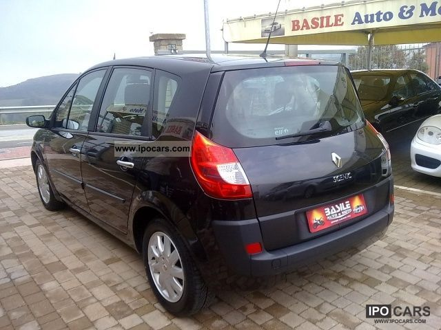 renault scenic 2008 ii 2 1 9 dci 130 exception. Black Bedroom Furniture Sets. Home Design Ideas
