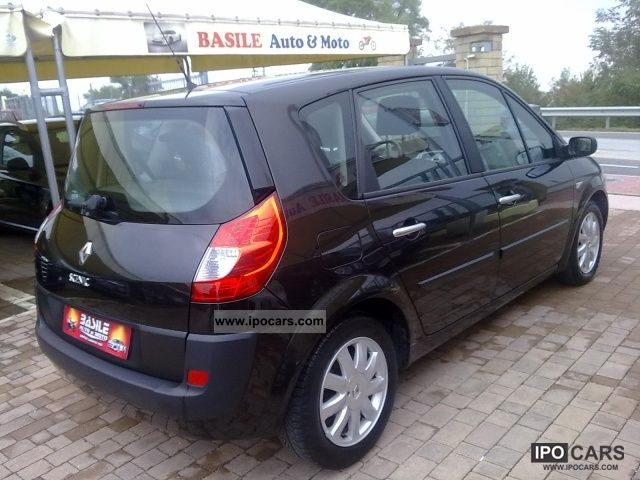 2008 renault scenic 1 9 dynamique dci 130cv ss car photo and specs. Black Bedroom Furniture Sets. Home Design Ideas