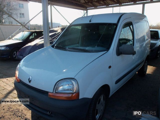 2001 renault kangoo 1 9 d truck car photo and specs. Black Bedroom Furniture Sets. Home Design Ideas