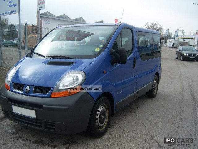 2004 renault trafic 2 5 dci l1h1 car photo and specs. Black Bedroom Furniture Sets. Home Design Ideas
