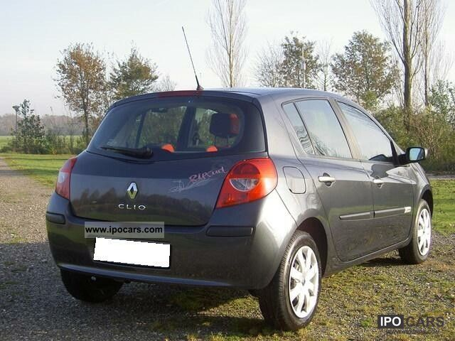 2008 renault clio 1 2 campus car photo and specs. Black Bedroom Furniture Sets. Home Design Ideas