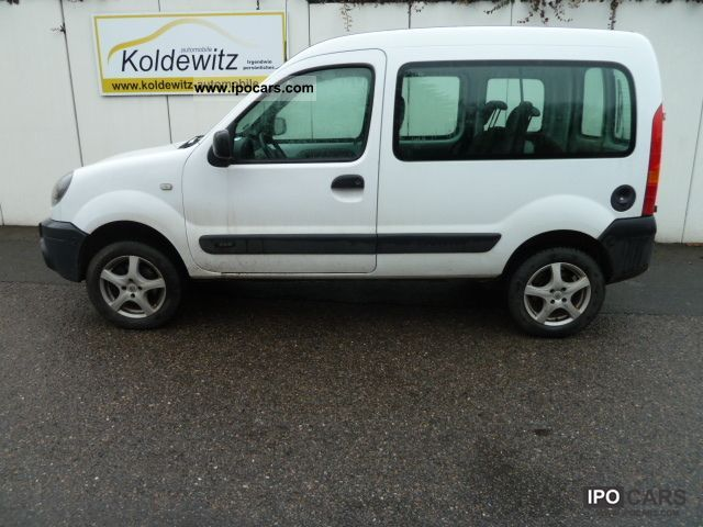 2006 Renault Kangoo 4x4 16 16v Aluminum Car Photo And Specs