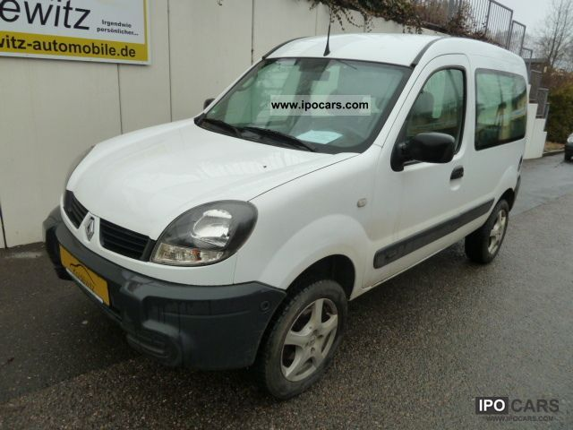 2006 renault kangoo 4x4 1 6 16v aluminum car photo and specs. Black Bedroom Furniture Sets. Home Design Ideas