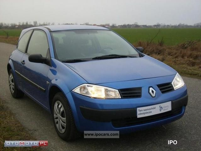 2004 Renault  Megane ZADBANA PO OPŁATACH! Small Car Used vehicle photo