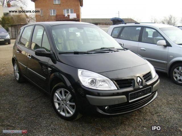 2007 renault scenic panorama car photo and specs. Black Bedroom Furniture Sets. Home Design Ideas