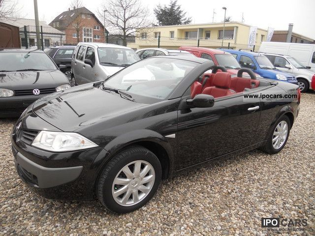 Renault  MEGANE CABRIOLET 2.0 LPG / / LEATHER / / KLiMATR. / / FULL 2008 Compressed Natural Gas Cars (CNG, methane, CH4) photo