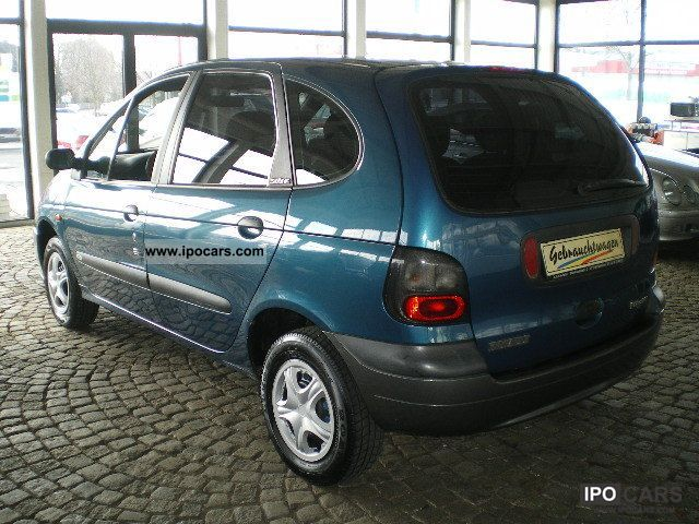 1998 Renault Scenic 1 6e Rt Century Air Conditioning Car Photo And Specs