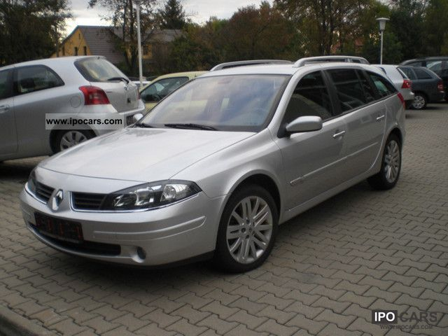 2007 renault laguna dynamique 1 9 dci fap car photo and specs. Black Bedroom Furniture Sets. Home Design Ideas