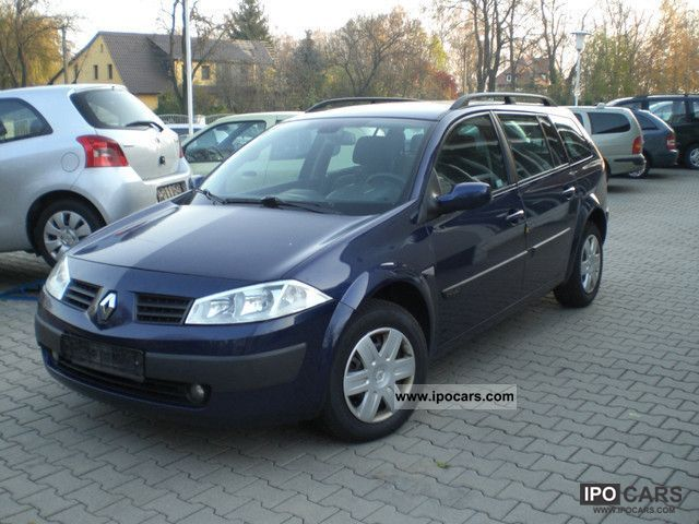 2004 Renault Megane 1 9 Dci Grand Tour Car Photo And Specs