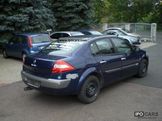 2004 Renault Megane 2 0 Car Photo And Specs