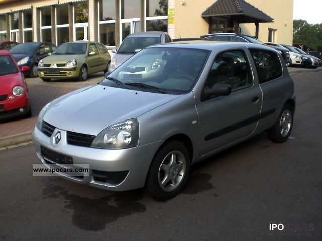 2007 renault clio 1 2 campus car photo and specs. Black Bedroom Furniture Sets. Home Design Ideas