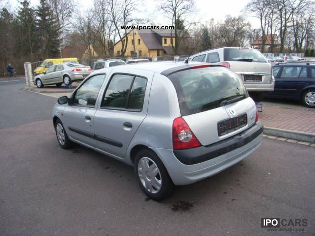 2001 renault clio 1 5 car photo and specs. Black Bedroom Furniture Sets. Home Design Ideas