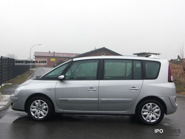 2006 renault espace 2 0 dci expression car photo and specs. Black Bedroom Furniture Sets. Home Design Ideas