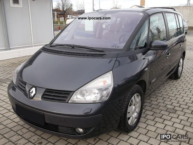 2005 renault espace 1 9 dci expression navi xenon klimatik car photo and specs. Black Bedroom Furniture Sets. Home Design Ideas