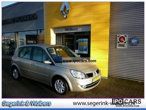 2008 Renault  Scenic 1.6 16V automaat TECHLINE * NAVI / HALF L Other Used vehicle photo