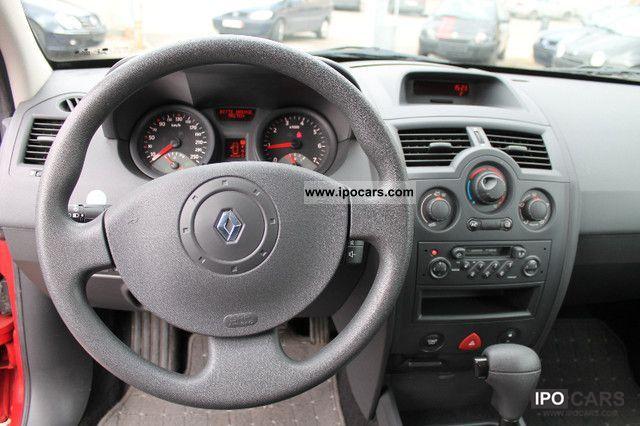 Renault Megane 2003 Interior 2003 Renault Megane 2 0