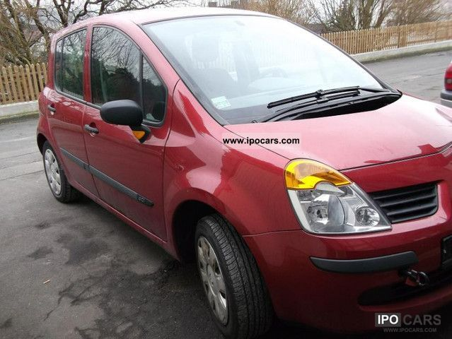 2006 renault modus 1 5 dci car photo and specs. Black Bedroom Furniture Sets. Home Design Ideas