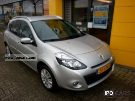 2010 renault clio estate collection tce 100 airco car photo and specs. Black Bedroom Furniture Sets. Home Design Ideas