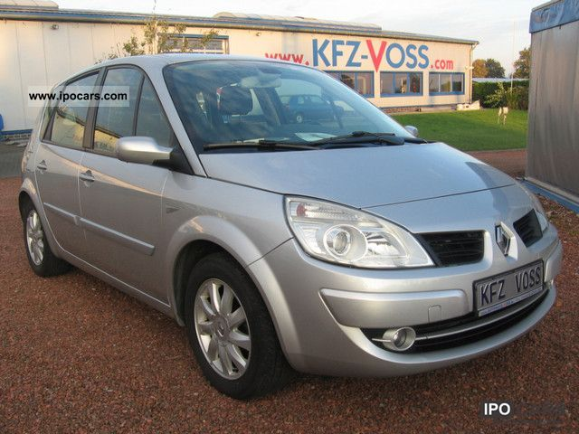 2006 renault scenic ii 2 0 16v automatic related infomation specifications weili automotive. Black Bedroom Furniture Sets. Home Design Ideas