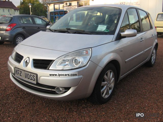 2006 renault megane scenic 2 0 16v car photo and specs. Black Bedroom Furniture Sets. Home Design Ideas