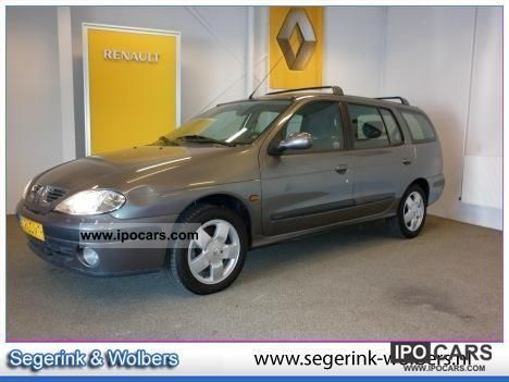 2002 Renault Megane 1.6 16V BREAK * Fairway Automaat NIEUWE AP Estate ...