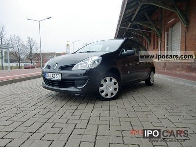 Renault  Clio 1.2 16V Campus 2008 Liquefied Petroleum Gas Cars (LPG, GPL, propane) photo