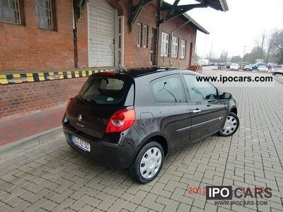 2008 renault clio 1 2 16v campus car photo and specs. Black Bedroom Furniture Sets. Home Design Ideas