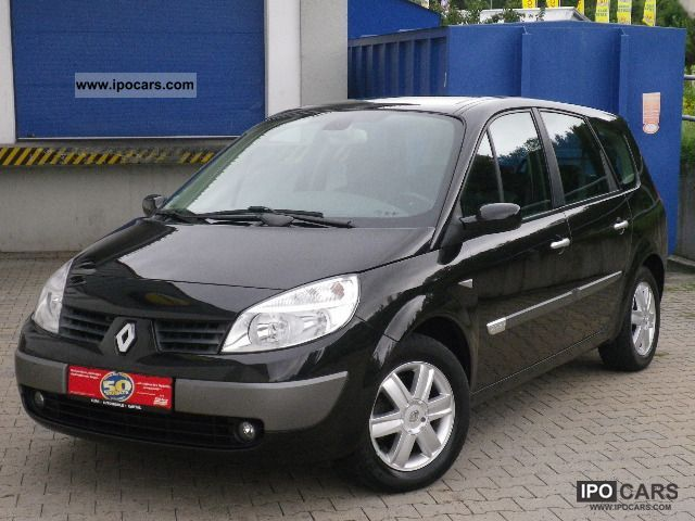 2006 renault grand scenic 2 0 16v privilege 1 hand 7 seater car photo and specs. Black Bedroom Furniture Sets. Home Design Ideas