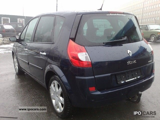 2007 renault scenic 1 9 dci fap exception 16 9 navigation car photo and specs. Black Bedroom Furniture Sets. Home Design Ideas
