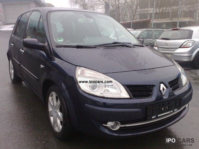 2007 renault scenic 1 9 dci fap exception 16 9 navigation. Black Bedroom Furniture Sets. Home Design Ideas