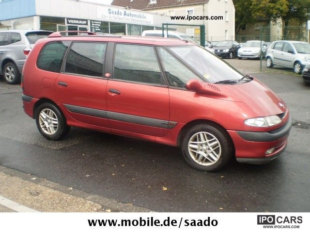 2002 renault espace 2 2 dci the race car photo and specs. Black Bedroom Furniture Sets. Home Design Ideas