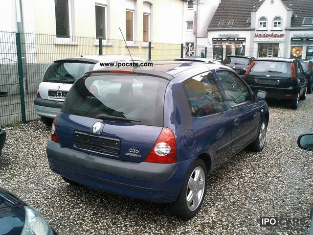2005 renault clio 1 2 16v campus car photo and specs. Black Bedroom Furniture Sets. Home Design Ideas