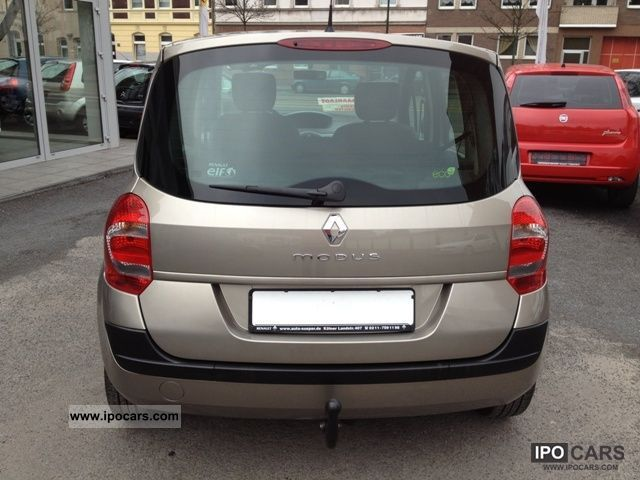2008 renault grand modus 1 2 16v air ahk car photo. Black Bedroom Furniture Sets. Home Design Ideas
